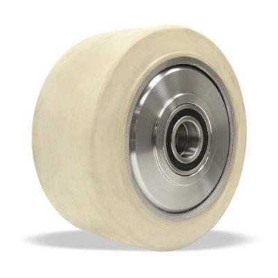 white rubber TerraTech wheel